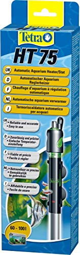 Tetra HT 75 - Potente Riscaldatore per Acquario per Coprire Diversi Livelli di Potenza con Manopola di Regolazione della Temperatura