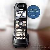 Panasonic Cordless Phone Handset Accessory Compatible with KX-TG6592T Cordless Phone System - KX-TGA659T (Black), Titanium Black
