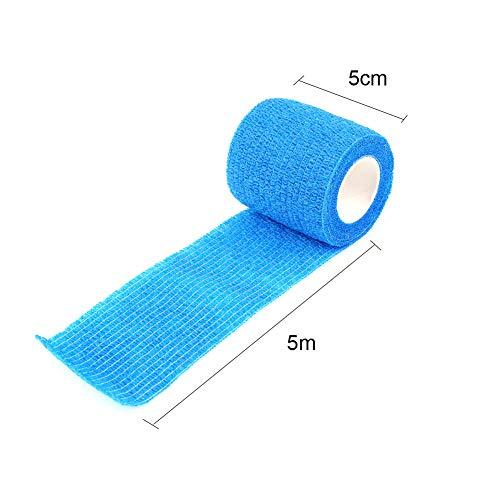 5cm * 5m gekleurd niet-geweven zelfklevend cohesief verband medisch elastisch verband
