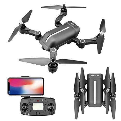 TFNAI Drone avec caméra pour Adultes, Caméra Drone 4K, Drone GPS Retour Accueil 5G WiFi FPV 300m FPV Distance Drone Long Temps de vol pour Les débutants Pliable Drone