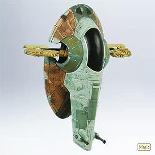 Hallmark Keepsake Ornament 2011 Star Wars Boba Fett's Starfighter Slave 1