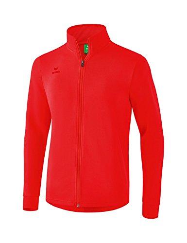 Erima Erwachsene Basic Sweatjacke, rot, XL