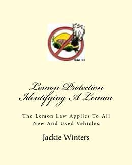 Lemon Protection Identifying A Lemon by [Jackie Winters]