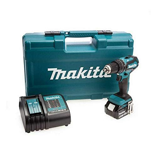 Makita DHP484STX5 18v Combi Drill with 1 x 5.0Ah Battery & Accessory Set