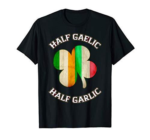 Funny Irish Italian Shirts For Women Men St Patrick's Gift T-Shirt