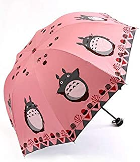 Umbrella Children umbrella anime my neighbor totoro cute daily folding umbrella collection cosplay kids cartoon dragon cat...