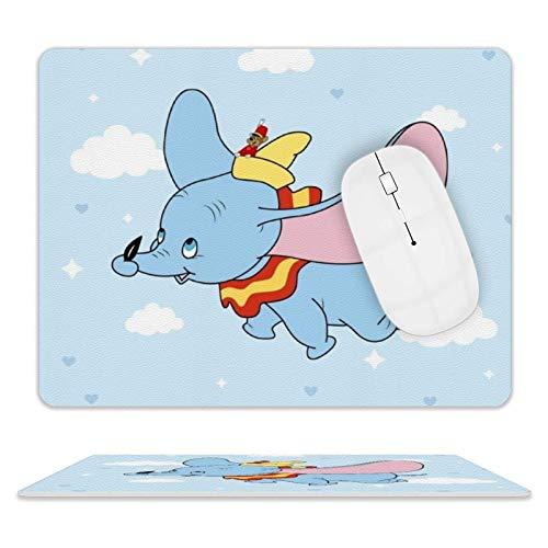 Blue Dumbo Gaming, Büro-Schreibtisch-Zubehör, Laptops und andere randgenähte Mauspads, 3D rutschfest, wasserdicht und langlebig, rechteckige Mauspads