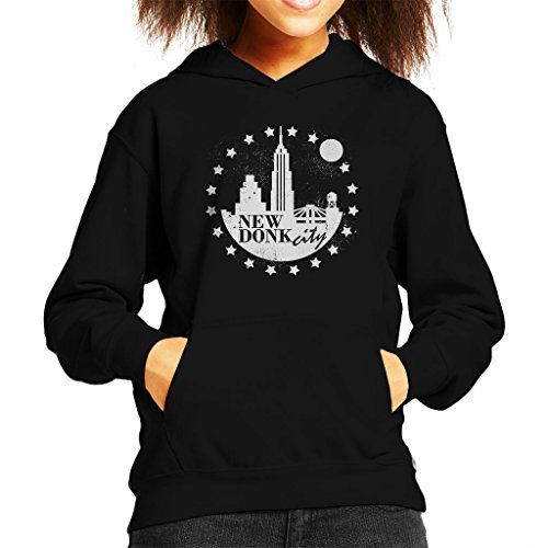 New Donk City Donkey Kong Kid's Hooded Sweatshirt