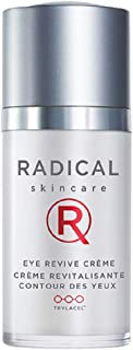 Radical Skincare Eye Revive Creme, 0.5 Fl Oz - 4-in-1 Anti-Aging Solution Combats Wrinkles, Dark Circles, Puffiness, and F...