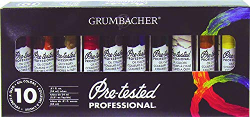 Grumbacher Oil Color Set, Multicolor