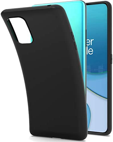 CoverON Slim TPU for OnePlus 8T Case OnePlus 8T Plus 5G Phone Case Flexible Soft Cover Black product image