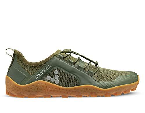 Vivobarefoot Primus - Zapatillas de correr para mujer, Verde...