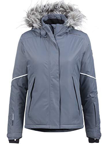 Whistler Damen Skijacke Brauns W-PRO mit 10.000 mm Wassersäule grau, 42