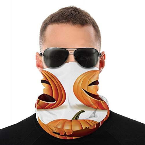 Calabaza de Halloween Variedad Cabeza Bufanda Brazales Sombrero de pirata Sombreros Pasamontañas para el polvo Viento Protección solar