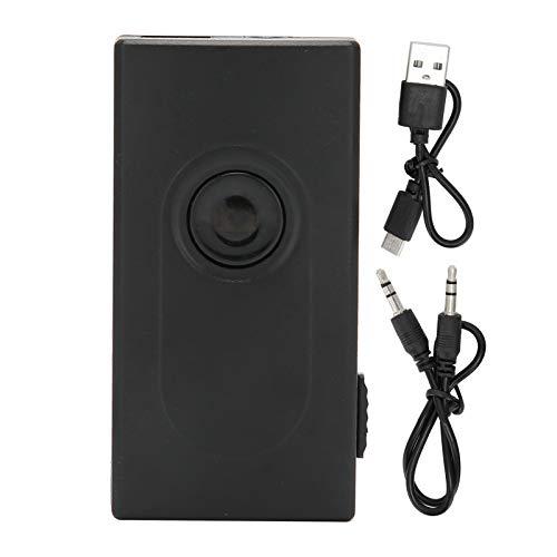 Transmisor/Receptor Bluetooth 4.2, Adaptador Bluetooth Inalámbrico 2 en 1 con Salida Estéreo AUX de 3.5mm, Adaptador de Audio A2DP, Baja Latencia para TV/Sistema de Sonido Doméstico/Automóvil