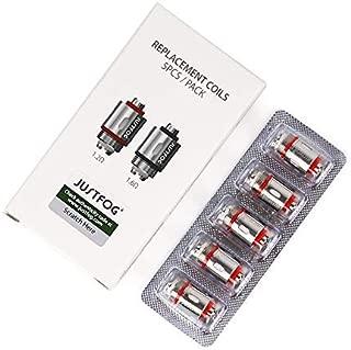 電子タバコ 交換用コイル Justfog Cotton Coil Q16、Q14、S14、G14、C14通用 5pcs/box (1.2Ω)
