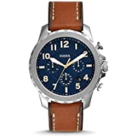 Fossil Bowman Chronograph Luggage Leather Men's Watch (FS5602)