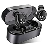 Upgraded Bluetooth 5.0 Wireless Earbuds, AairHut A3 Deep Bass...