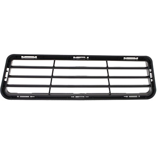 Bumper Grille Compatible with 2012-14 Toyota Camry SE/SE Sport Lower Textured Black Plastic