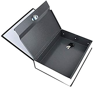 Dictionary Book Safe Security Cash Money Box with Locker & Key