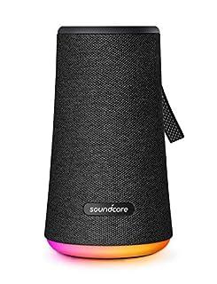 Anker Soundcore Flare+ Bluetooth Lautsprecher, mit Starkem 360° Rundum-Sound, Fantastischem Bass, Stimmungs-LED-Licht, IPX7 wasserdichte, 20 h Spielzeit, für Partys (Schwarz) (B07F7VJN1G) | Amazon price tracker / tracking, Amazon price history charts, Amazon price watches, Amazon price drop alerts