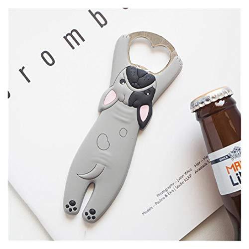JSJJAQW Imán magnético para nevera abrebotellas de cerveza, abridor de botellas de cerveza, imán de gato, etiqueta engomada del refrigerador (color: 8)