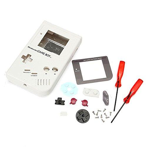 GOZAR Caso De Reemplazo De Carcasa De Carcasa Completa Para Nintendo 1989 Game Boy Class Repair