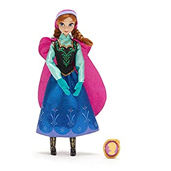 Disney Anna Classic Doll with Pendant – Frozen –11 ½ Inches