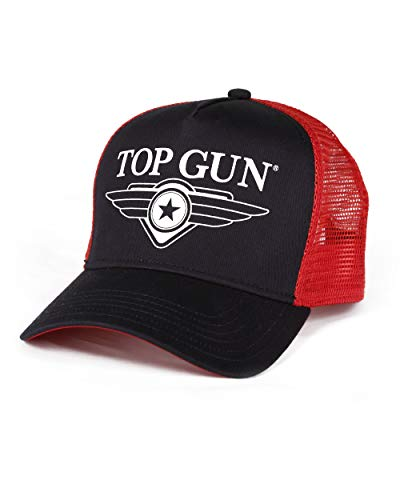 Top Gun Herren Basic Trucker Cap Navy/red