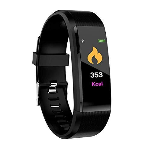 Mk Mankrit Bluetooth Smart Fitness Band Watch for Men/Women with Heart Rate Activity Tracker Waterproof Body|1Pc Only