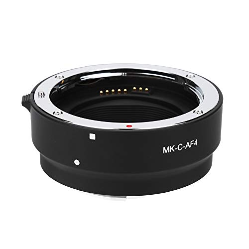 MK-C-AF4 Anillo Adaptador electrónico de Montaje EOS M con Enfoque automático para cámara con Montura EOS-M de Canon para Montar Lente EF/EF-S