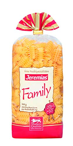 Jeremias Radi, Family Frischei-Nudeln, 4er Pack (4 x 500 g Beutel)