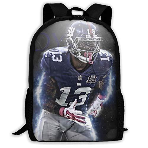 JNMJK Hochleistungs-Unisex-Rucksack für Erwachsene Rugby-Spieler Büchertasche Reisetasche Schultaschen Laptoptasche
