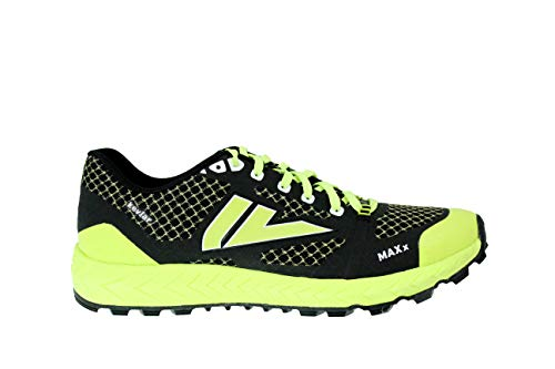 VJ MAXx Shoes - Trail Running Shoes Women and Mens - Made for Rocky and Technical Mountain Trails and Obstacle Course Races - Men's 9/Women's 10.5