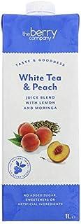 The Berry Company White Tea & Peach Juice Blend with Moringa & Lemon, 1 Litre