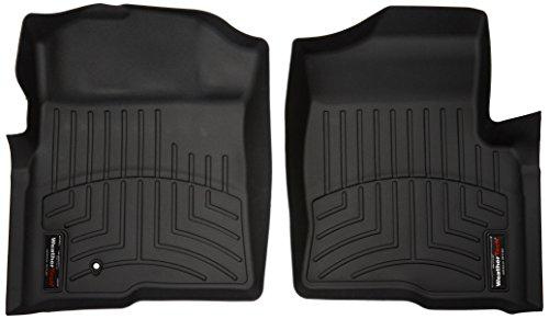 WeatherTech 441791 Custom Fit Front FloorLiner for Ford F-150 (Black)