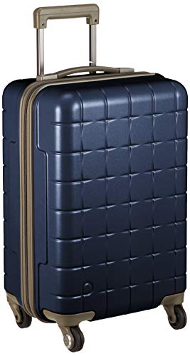 [プロテカ] スーツケース 日本製 360T キャスターストッパー付 機内持ち込み可 保証付 33L 49 cm 3kg コズミックネイビー