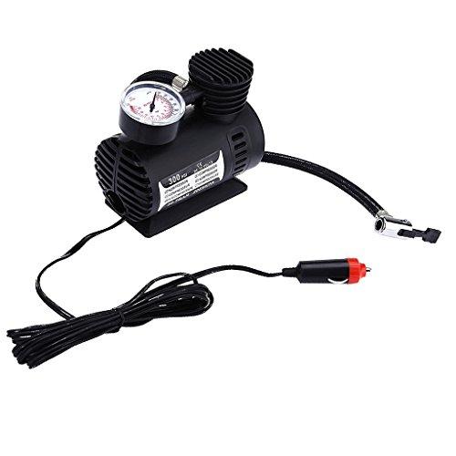 Inflable Neumático de La Bomba Del Neumático Del Compresor de Aire Del Coche Eléctrico