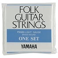 YAMAHA/ヤマハ FS-520×12 フォーク弦/ライト/セット弦×12(FS520)