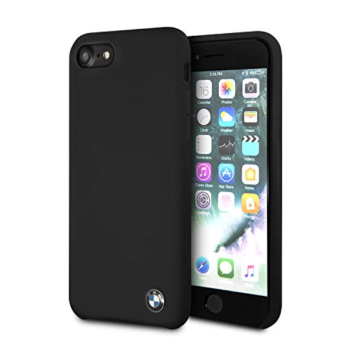 BMW Signature Silicone Hard Case - Black - iPhone 6/7/8 - New Packaging