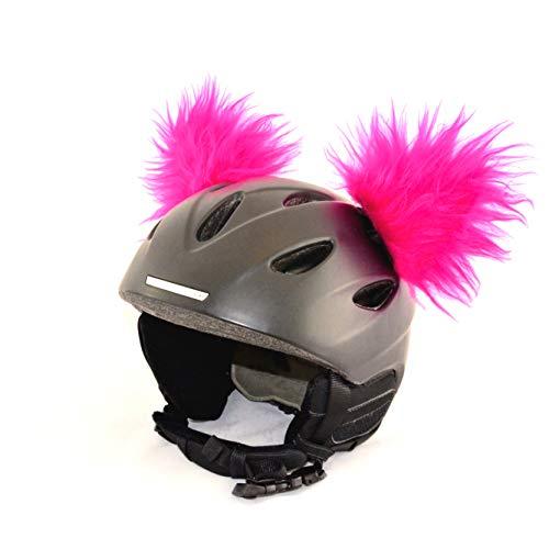 Helm-Ohren für Skihelm, Snowboardhelm, Kinder-Helm, Kinder-Skihelm, Motorradhelm oder Fahrradhelm -...