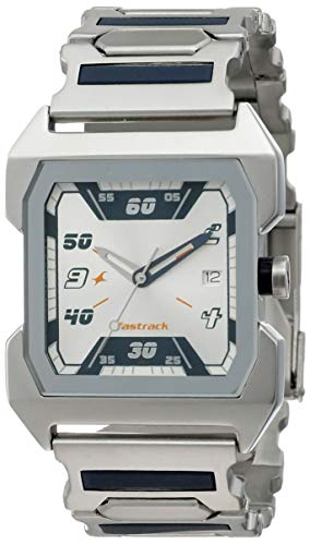 Fastrack Party Analog Silver Dial Men's Watch