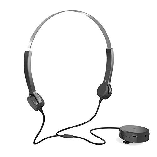 Soledpower Optimum Bone Conduction Headphones Hearing Aids Bone Conduction Headset Audiphone Deaf aid Best Gift for Hearing Difficulties