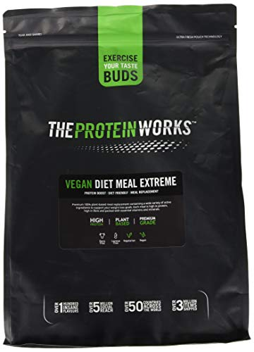 The Protein Works Vegan Diet Meal Replacement Extreme, Chocolate Silk, 2 kg
