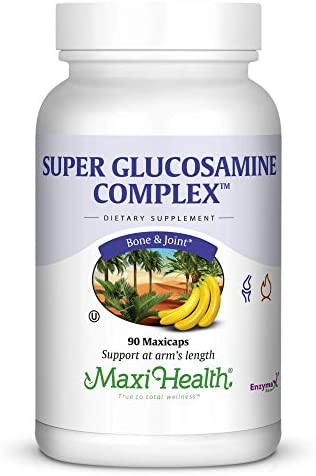 Maxi Health Super Glucosamine Complex Joint Formula with MSM 90 Capsules Kosher product image