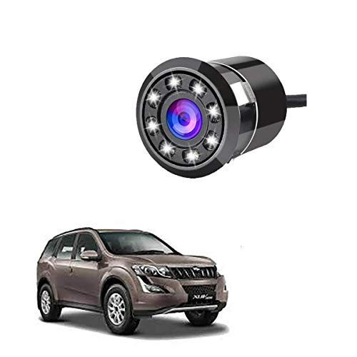 Autokraftz 8 Led Car Rear View Reverse Parking Camera with Hd Night Vision for Mahindra Xuv 500