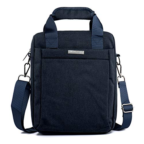 LaRechor Shoulder Bag Messenger Bag for Men Medium Crossboy Bag Work Travel Man Bag Tablet...