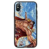 Case per iPhone 6 6S 7 8 Plus 10 X XR XS XS MAX, One-Piece Luffy-Vidrio Templado Case Cover-5_for_iphone11promax