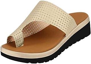 Bunion Sandals Correction, Big Toe Bone Slippers, Comfy Platform Summer Beach Shoes Flip Flops Suitable for Everyday Wear