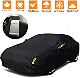 NEVERLAND Car Cover Sedan Waterproof Heavy Duty All Weather Protection Anti-UV Windproof Outdoor Full Car Cover Fit for Automobiles 178''~183'' Alfa-Romeo /BMW /Mercedes-Benz /Honda /Toyota